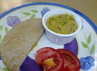 Slow Cooker Curried Hummus