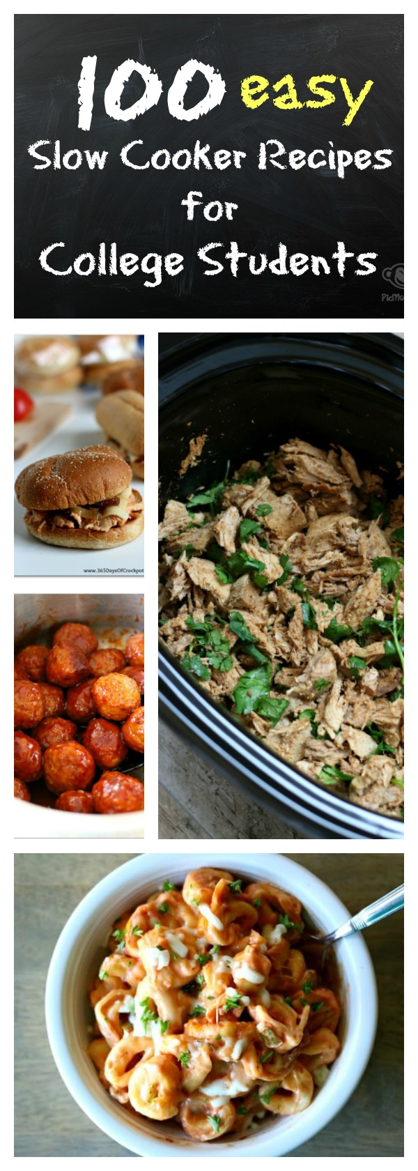 100 slow cooker recipes for college students