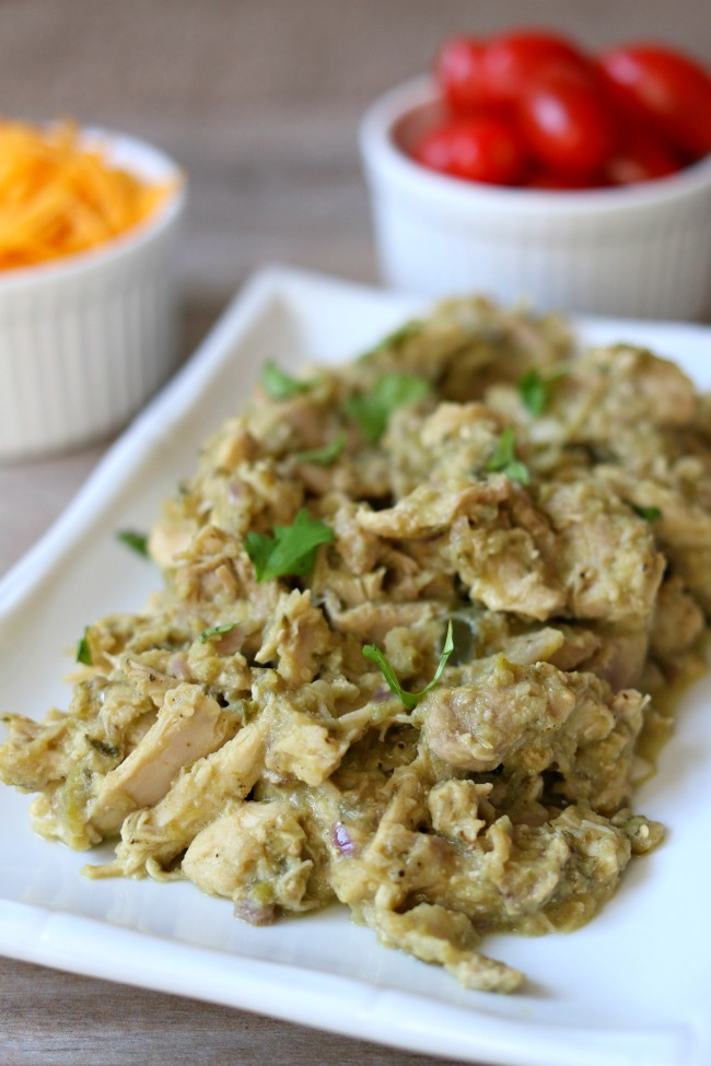 Slow Cooker Tomatillo Chicken Filling 365 Days Of Slow