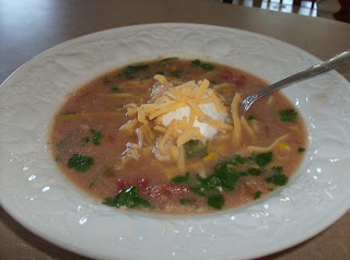 White Cheddar Mexican Soup