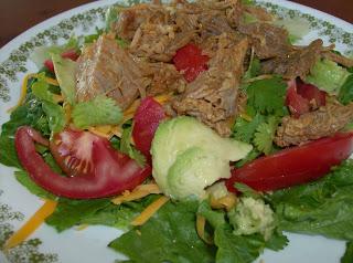 Recipe Highlight from Archives Past:  Shredded Pork Salad
