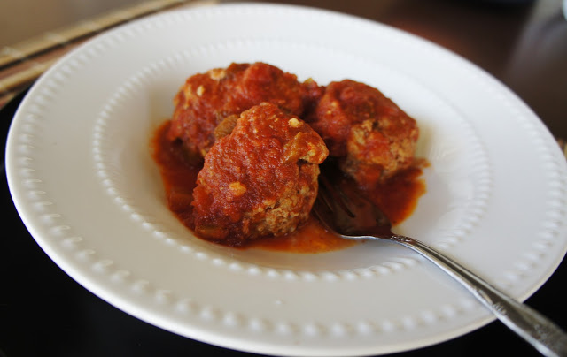 Slow Cooker Recipe for Southwestern Chicken or Turkey Meatballs #slowcooker #crockpot