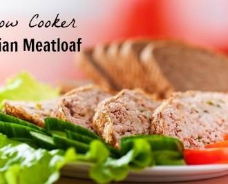 Recipe for Slow Cooker (Crock Pot) Asian Turkey Meatloaf