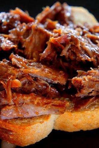 Fresh Living:  No Fail Roast Beef Sandwiches