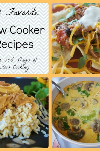 My favorite slow cooker recipes:  Part 2