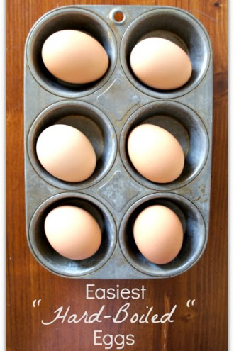 Best and Easiest Hard Boiled Eggs EVER!