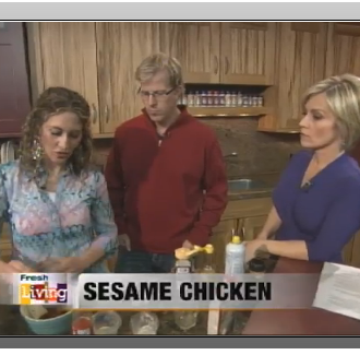 Fresh Living:  Sesame Chicken