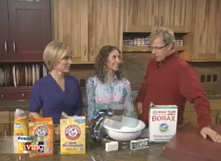 Fresh Living Video Segment:  How to Make Your Own Laundry Detergent