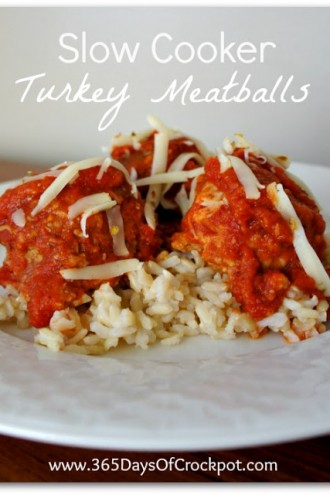 Recipe for Slow Cooker Turkey Meatballs