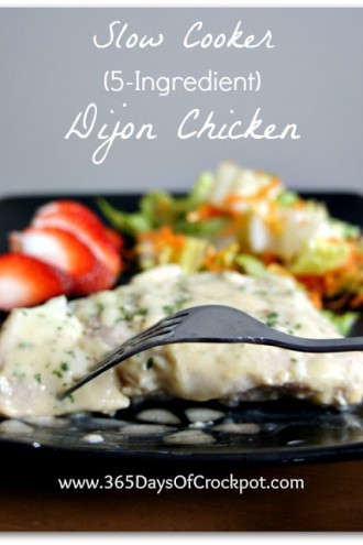 Recipe Highlight from Archives Past:  Slow Cooker Dijon Chicken