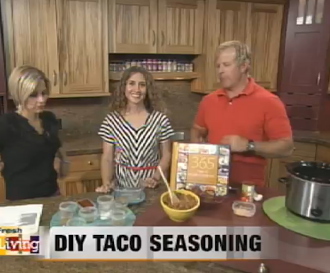 Fresh Living:  Taco Seasoning and Turkey Taco Meat