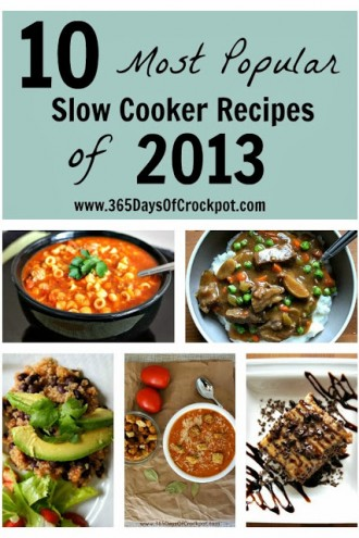 10 Most Popular Slow Cooker Recipes of 2013