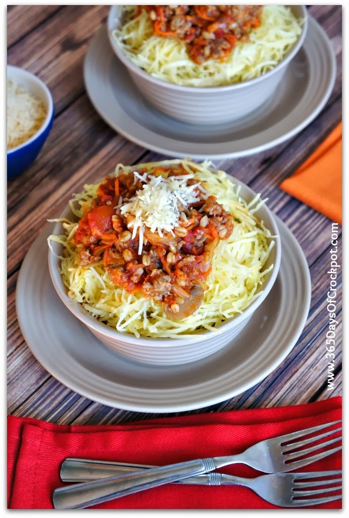 Instant Pot Spaghetti Squash--this is hands down the easiest and fastest way to cook spaghetti squash. Spaghetti squash is a healthy, low calorie alternative to regular pasta and because it has a neutral flavor is soaks up whatever seasonings or sauce you serve with it.