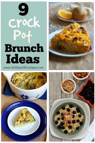 9 Crock Pot Brunch Ideas