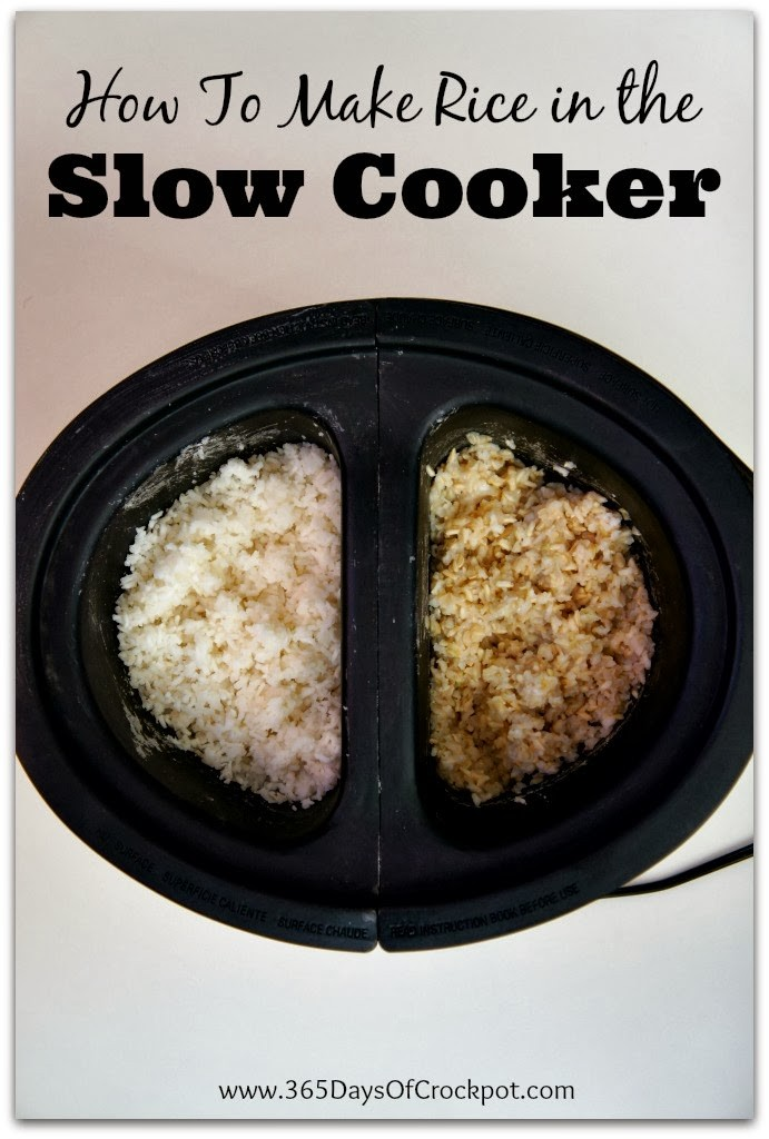 How to Make Rice in the Slow Cooker (CrockPot) #lifehack #crockpot #slowcooker