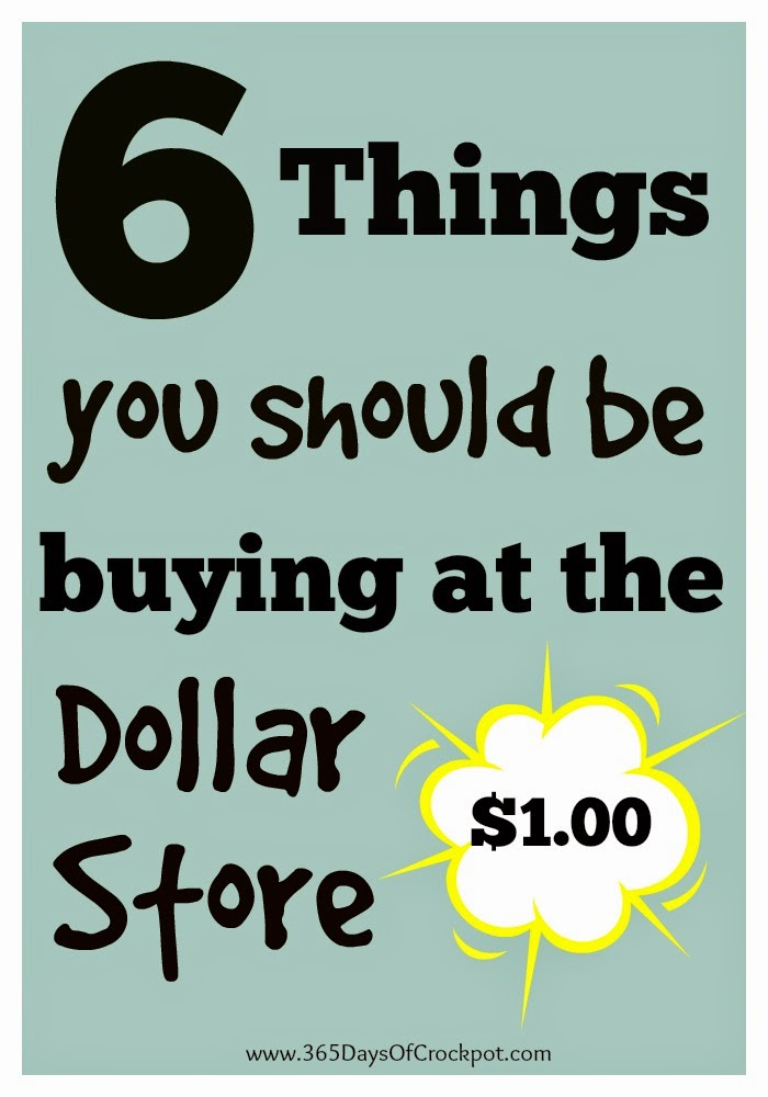 6 Things You Should Be Buying at the Dollar Store - 365 Days