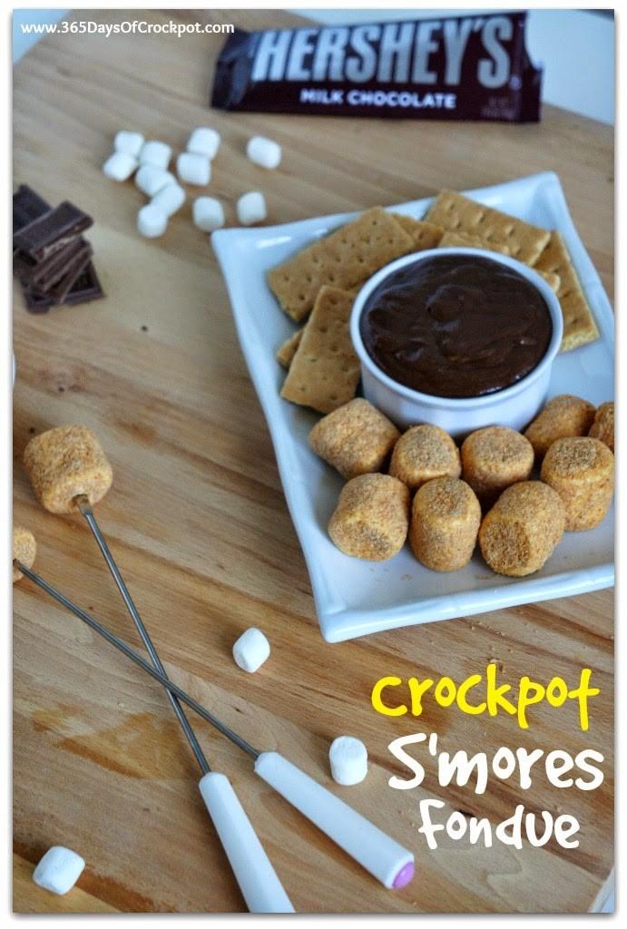 Crockpot Smores Cake