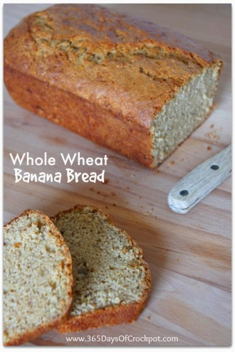 Best Recipe for Whole Wheat Banana Bread {Fun Friday}