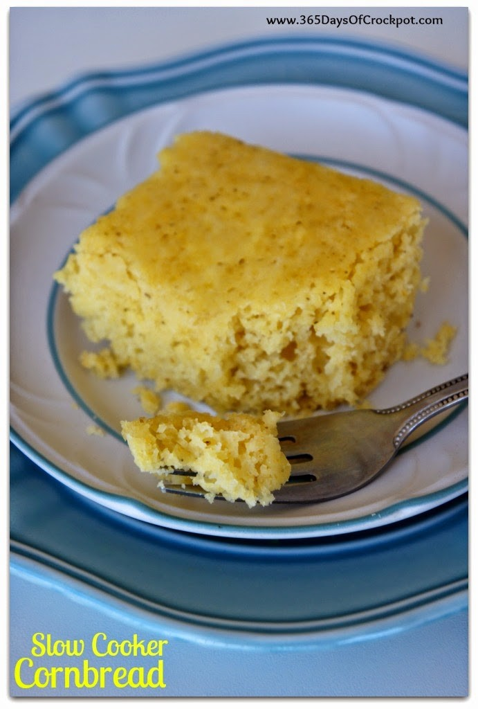 How to Make Cornbread in the Slow Cooker #crockpot