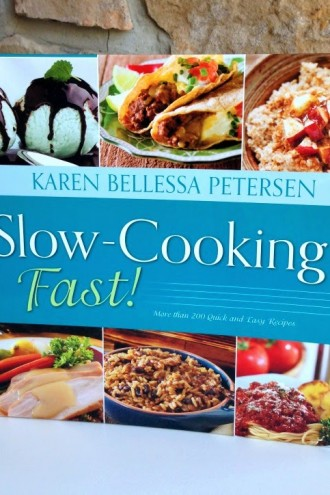 Slow-Cooking Fast! (My NEW cookbook comes out today)