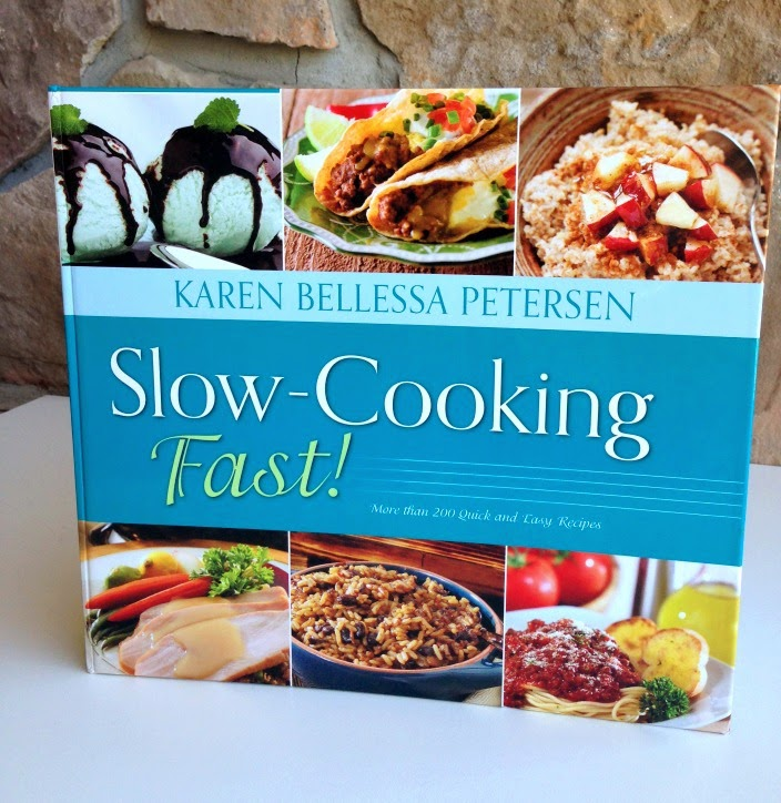 The Slow-Cooking Fast! Cookbook is a perfect resource to have in your home if you're a busy parent that needs some go-to crockpot recipes!