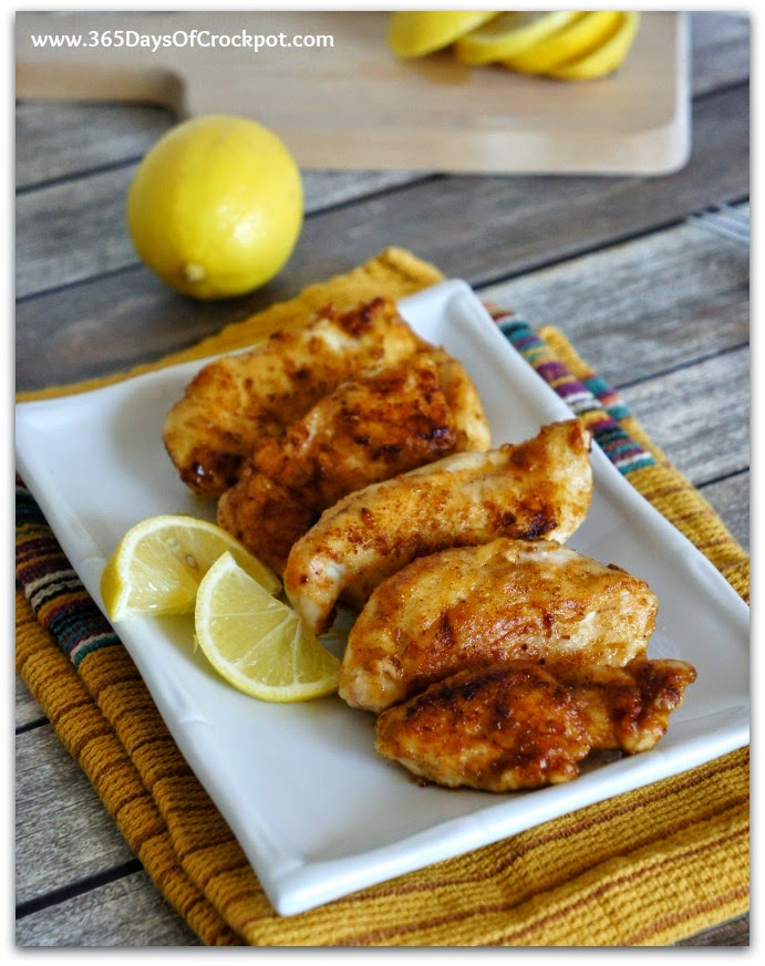 Lemon Chicken is my favorite chicken ever!  Take a boring boneless skinless chicken breast and transform it into a flavorful dinner.