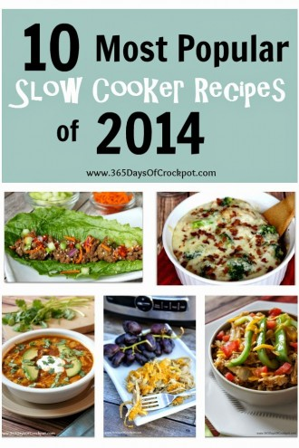 10 Most Popular Recipes from 2014