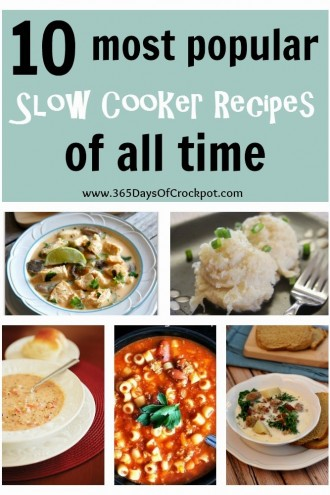 Top 10 Most Popular Slow Cooker Recipes of All Time