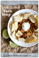 This is an EASY recipe for crockpot taco soup. Anybody can make this and have success. #crockpot #recipe #slowcooker #tacosoup