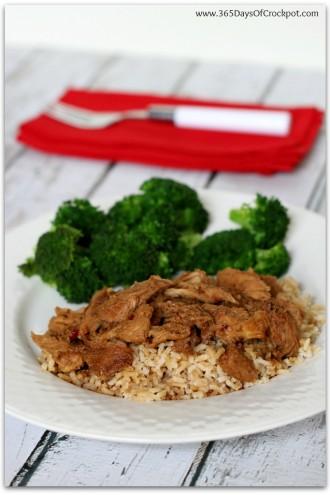 Slow Cooker Korean BBQ Sauce w/ Pork, Chicken or Beef