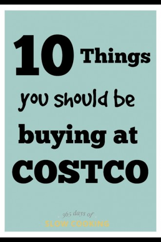 10 Things You Should Be Buying at Costco