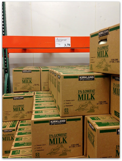 2 gallons of milk at costco for only $3.79 is a good deal!