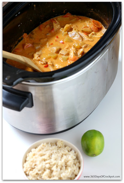Recipe for coconut curry with chicken