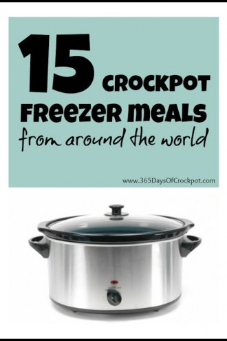 15 Freezer Crockpot Meals from Around the World