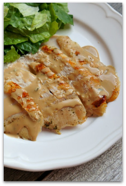 3-Ingredient Slow Cooker Turkey Breast and Gravy: This slow cooker turkey breast is so super easy to make (it only has 3 ingredients) and turns out moist and flavorful every time.