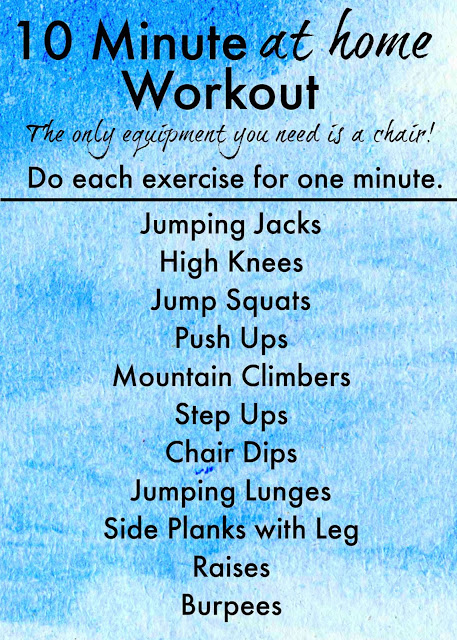 10 Fat Burning Exercises to Start Your Day (plus a giveaway