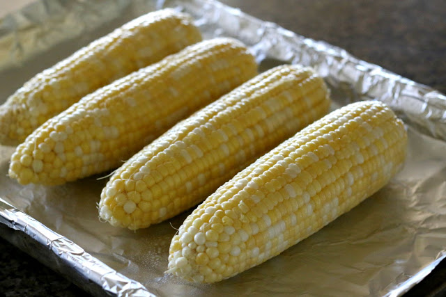 You can roast your corn in the oven or grill it. Either way, it's going to have great flavor.