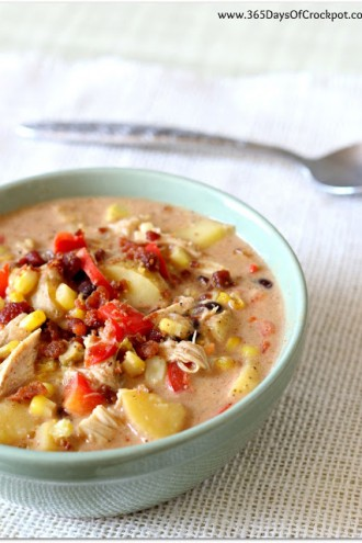 Crockpot Mexican Corn Chowder
