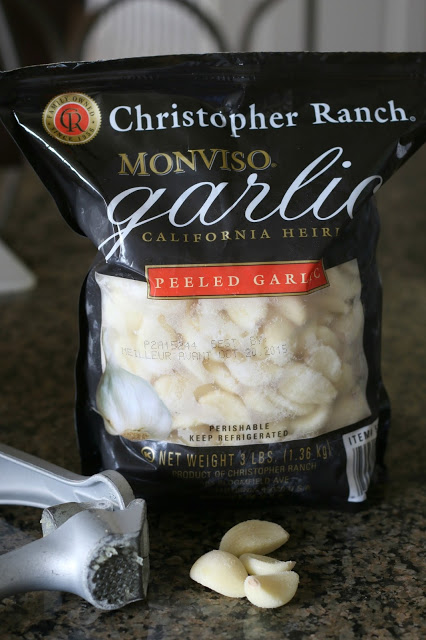 peeled garlic cloves from costco