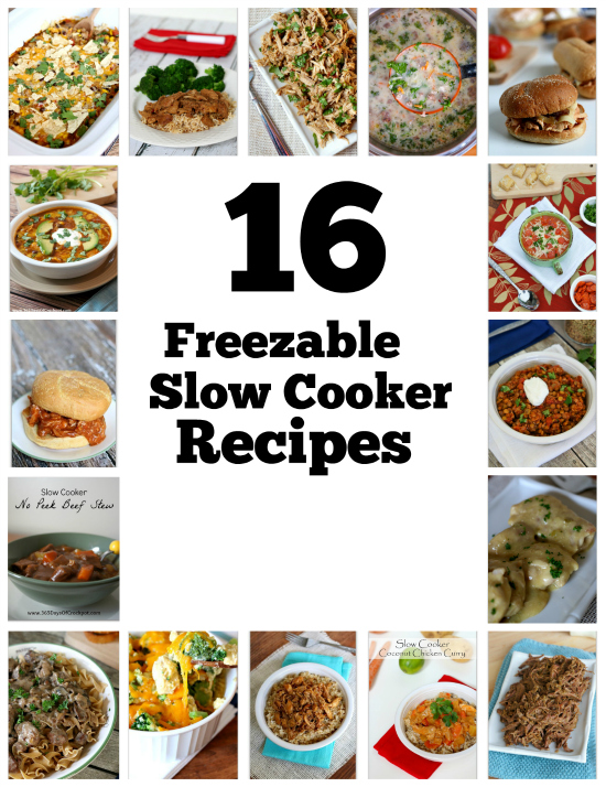 16 freezable slow cooker dinners with instructions to make ahead 16 freezable slow cooker dinners with instructions to make ahead freeze and then forumfinder Choice Image