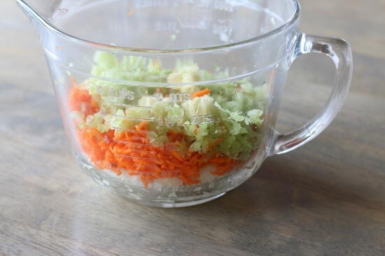 mirepoix for gnocchi soup