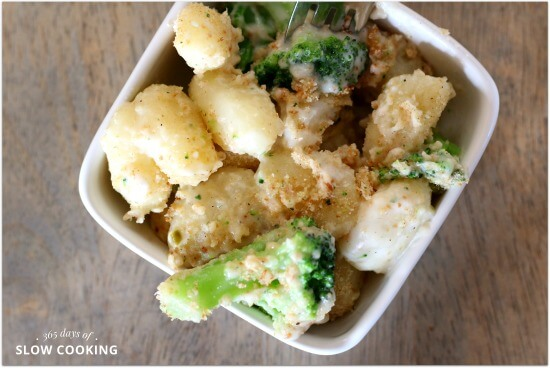 Pepper Jack Mac with Gnocchi and Broccoli