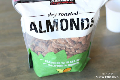 big bag of almonds from costco
