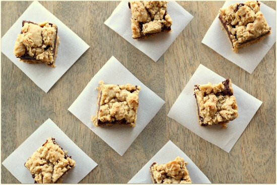Oatmeal Fudgy Cookie Bars