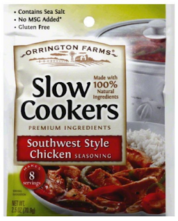 Orrington Farm Slow Cookers Southwest Chicken Seasoning