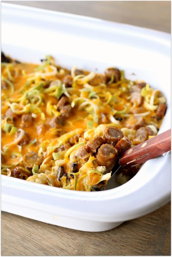 Low carb savory breakfast casserole