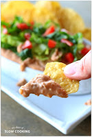 Best dip to bring to your superbowl party...it's creamy and cheesy and delicious