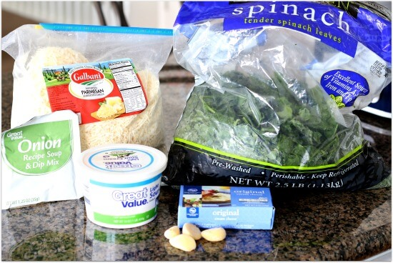 Easy Slow Cooker Spinach Dip 365 Days Of Slow Cooking And