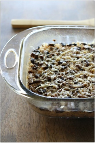 How to Make Brown Rice in the Oven and a Recipe for Mushroom, Garlic & Parmesan Brown Rice