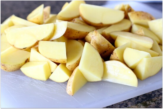Side dish for potatoes in the crockpot